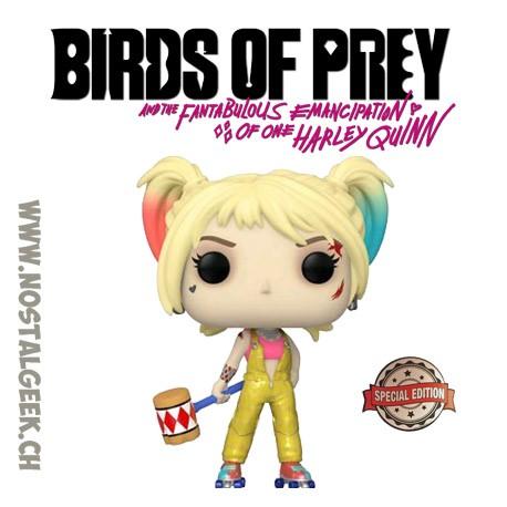 Funko Pop Movies Birds of Prey Harley Quinn Boobytrap Battle Hearted Exclusive Vinyl Figure