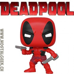 Funko Pop Marvel Deadpool (First Appearance) Vinyl Figure