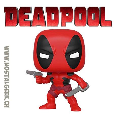 Funko Pop Marvel Deadpool (First Appearance) Vinyl Figure
