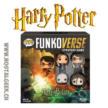 Funko Pop Funkoverse Harry Potter Board Game 4 characters Base set French Version