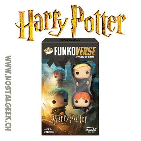Funko Pop Funkoverse Harry Potter Board Game 2 characters Add-on French Version
