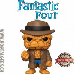 Funko Pop Marvel Fantastic Four The Thing (Hat) Exclusive Vinyl Figure