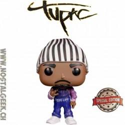 Funko Pop Rocks Tupac Shakur (Thug Life Overalls) Edition Limitée