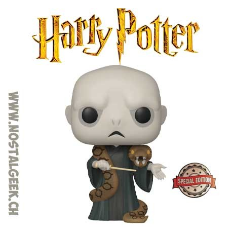 Funko Pop! Harry Potter Lord Voldemort (with Nagini) Edition Limitée