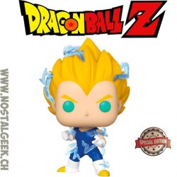 Funko Pop Dragon Ball Z Super Saiyan 2 Vegeta Exclusive Vinyl Figure