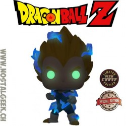 Funko Pop Dragon Ball Z Vegeta Super Saiyan 2 Chase Phosphorescent Edition Limitée