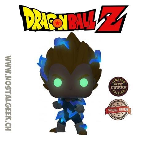 Funko Pop Dragon Ball Z Vegeta Super Saiyan 2 Chase Phosphorescent Edition Limitée