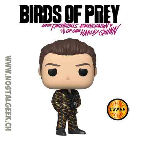Funko Pop Films Birds of Prey Roman Sionis (Black and Gold) Chase Edition Limitée