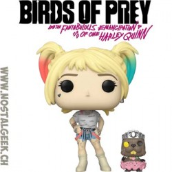 Funko Pop Films Birds of Prey Harley Quinn and Beaver Vinyl Figure