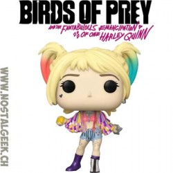 Funko Pop Films Birds of Prey Harley Quinn Caution Tape Vinyl Figure
