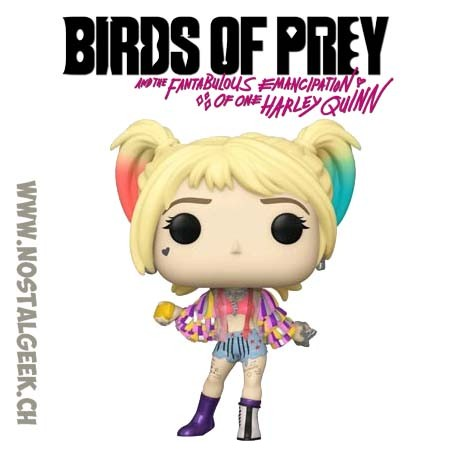 Funko Pop Films Birds of Prey Harley Quinn Caution Tape