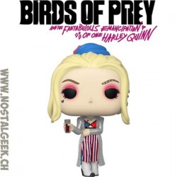 Funko Pop Films Birds of Prey Harley Quinn Black Mask Club Vinyl Figure
