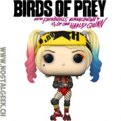 Funko Pop Films Birds of Prey Harley Quinn Roller Derby Vinyl Figure