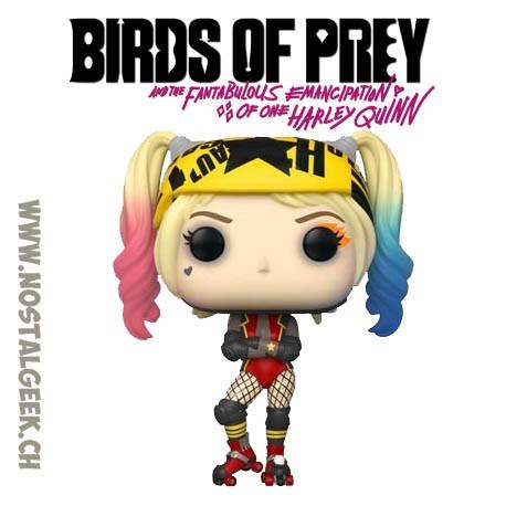 Funko Pop Films Birds of Prey Harley Quinn Roller Derby Vinyl Figure