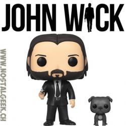 Funko Pop Movies John Wick with Dog Vinyl Figure