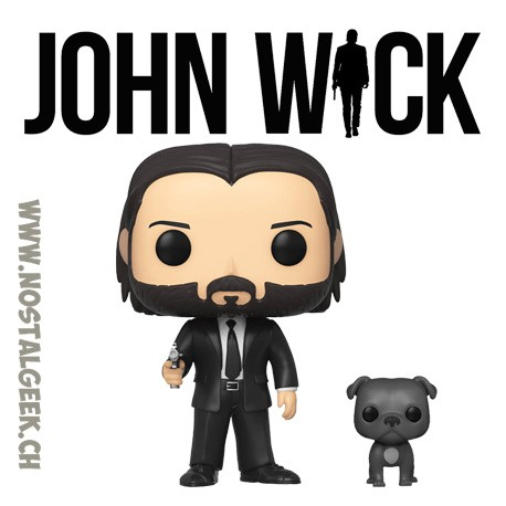 Funko Pop Movies John Wick with Dog