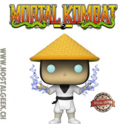 Funko Pop Games Mortal Kombat Raiden (Classic) (Lightning) Exclusive Vinyl Figure