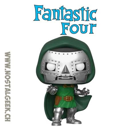 Funko Pop Marvel Fantastic Four Doctor Doom Vinyl Figure