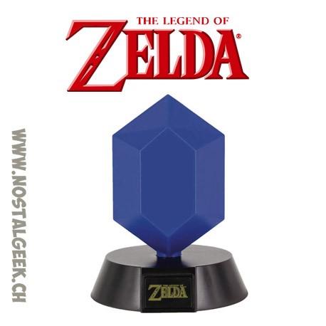 The Legend Of Zelda - Lampe 3D Rupee Bleu 10cm