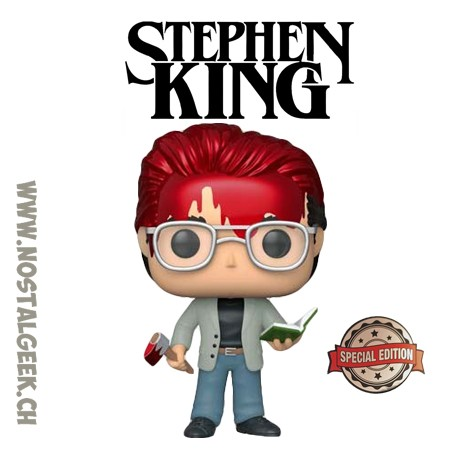 Funko Pop Icons Stephen King with Axe and Book Exclusive Vinyl Figure