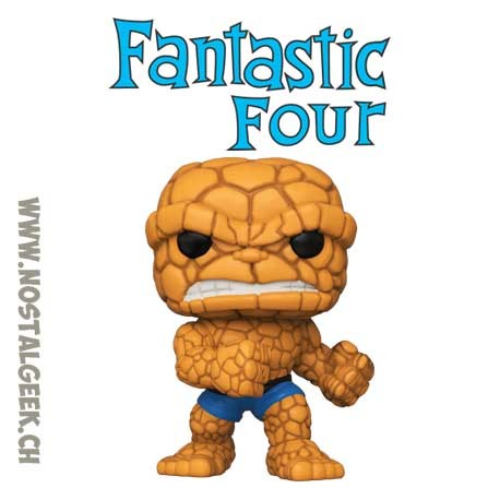 Funko Pop Marvel Fantastic Four The Thing Vinyl Figure