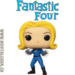 Funko Pop Marvel Fantastic Four Invisible Girl Vinyl Figure