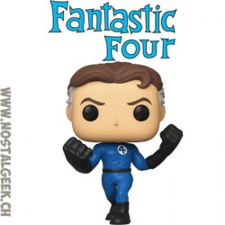 Funko Pop Marvel Fantastic Four Mister Fantastic Vinyl Figure