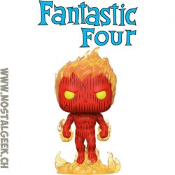 Funko Pop Marvel Fantastic Four La Torche Humain (Human Torch)