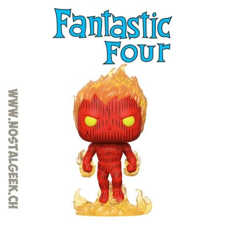 Funko Pop Marvel Fantastic Four La Torche Humain (Human Torch)