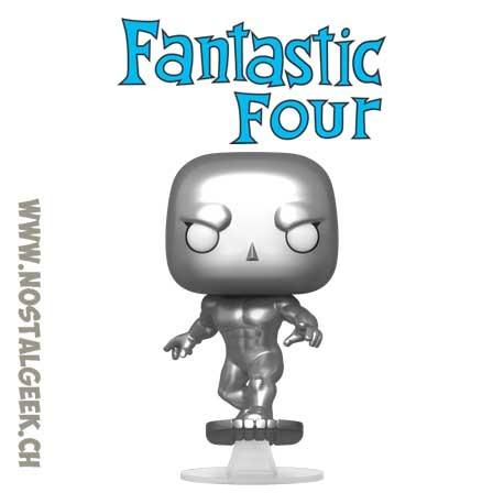 Funko Pop Marvel Fantastic Four Le Surfeur D'argent (Silver Surfer)