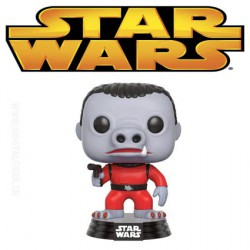 Funko Pop! Star Wars Red Snaggletooth Exclusive