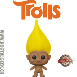 Funko Pop Trolls Yellow Troll Exclusive Vinyl Figure
