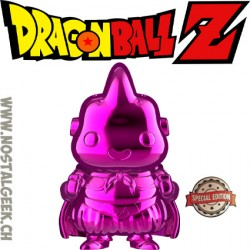 Funko Pop Dragonball Z Majin Buu (Pink Chrome) Edition Limitée
