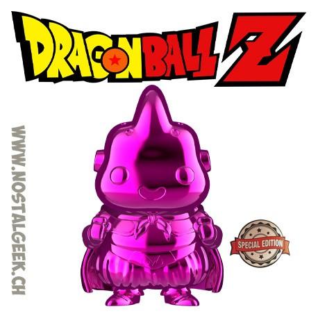 Funko Pop Dragonball Z Majin Buu (Pink Chrome) Edition Limitée