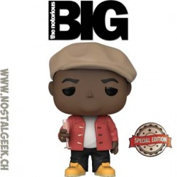 Funko Pop Rocks Notorious B.I.G. with Champagne Edition Limitée