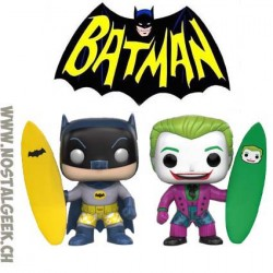 Funko Pop TV Surfs Batman & Joker Surf's Up 2-Pack Edition Limitée