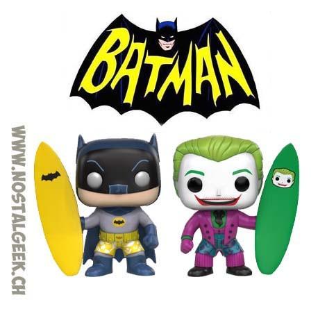 Funko Pop TV Surfs Batman & Joker Surf's Up 2-Pack Edition Limitée