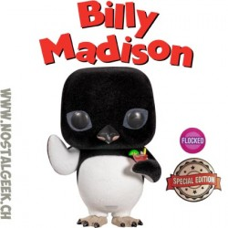 Funko Pop Movies Billy Madison Penguin with Cocktail (Flocked) Edition Limitée