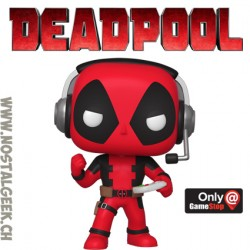 Funko Pop Marvel Deadpool (Gamer) Exclusive Vinyl Figure