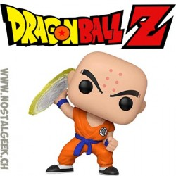 Funko Pop Dragon Ball Z Krillin (with Destructo Disc) Vinyl Figure