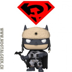 Funko Pop DC Heroes Batman (Red Son 2003) Vinyl Figure