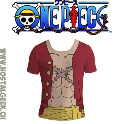 One Piece T-shirt Tenue Luffy New World