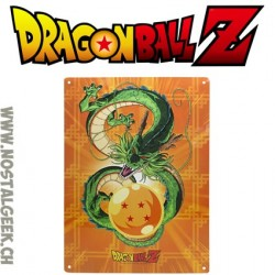 Dragon Ball - Plaque Murale métal Shenron (28x38cm)