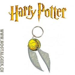 Harry Potter Porte-clés en caoutchouc Vif d'or
