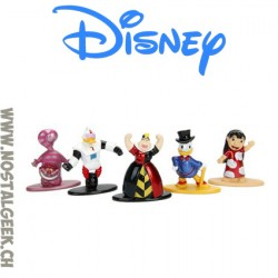 Disney Pack de 5 figurines Nano Metalfigs