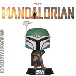 Funko Pop Star Wars The Mandalorian Covert Mandalorian Vinyl Figure