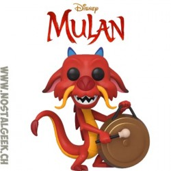 Funko Pop Disney Mulan Mushu (with Gong) Vinyl Figure