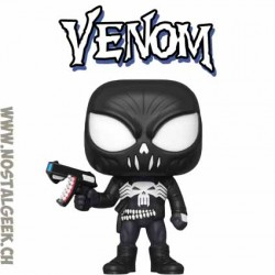 Funko Pop Marvel Venomized Punisher Vinyl Figure