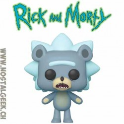 Funko Pop! Animation Rick and Morty Teddy Rick Vinyl Figure