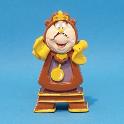 Disney Beauty and the Beast Cogsworth second hand Figure